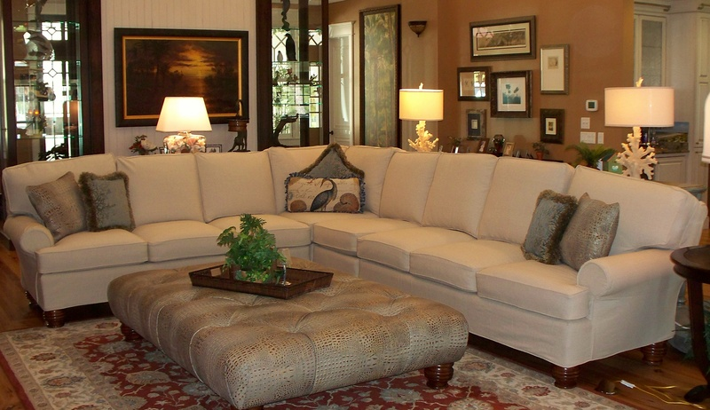 A Summer Look For Leather Sectional