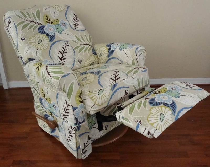 Slipcovered Recliner