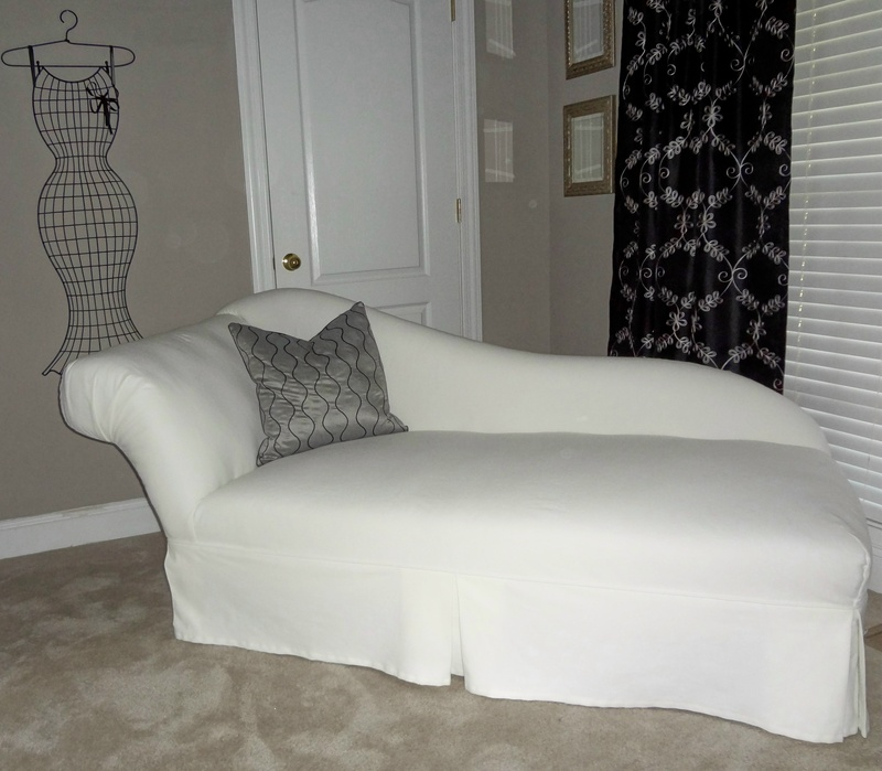 slipcovered chaise lounge bedroom chaise lounge covers