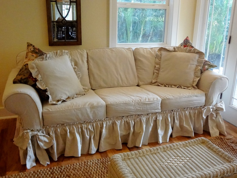 Tori S Drop Cloth Slipcover